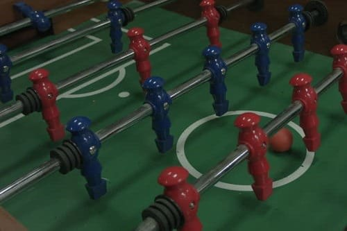 Foosball tacts are the key to success