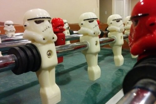 Foosball bumbers Grease