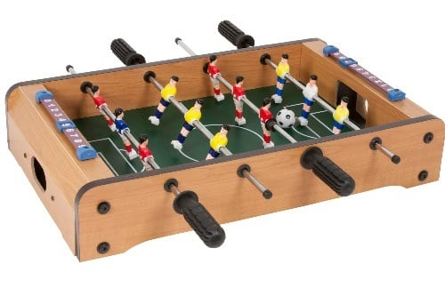 tabletop foosball table