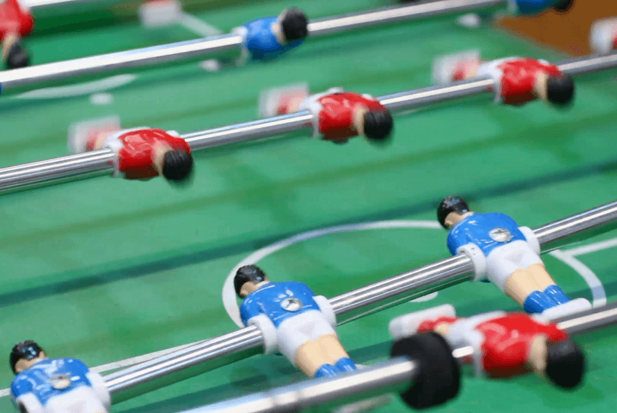Is Spinning Allowed In Foosball?
