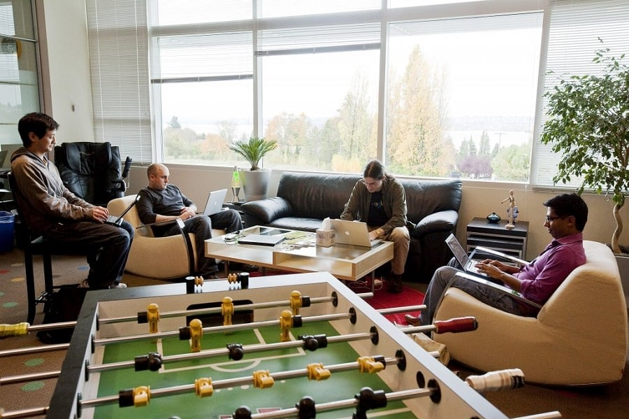 Why Foosball Is The Perfect Startup Office Sport