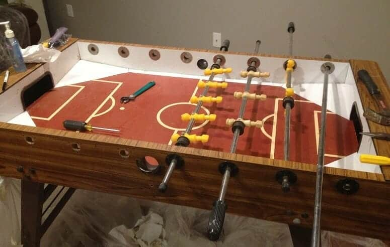 Old Foosball Table