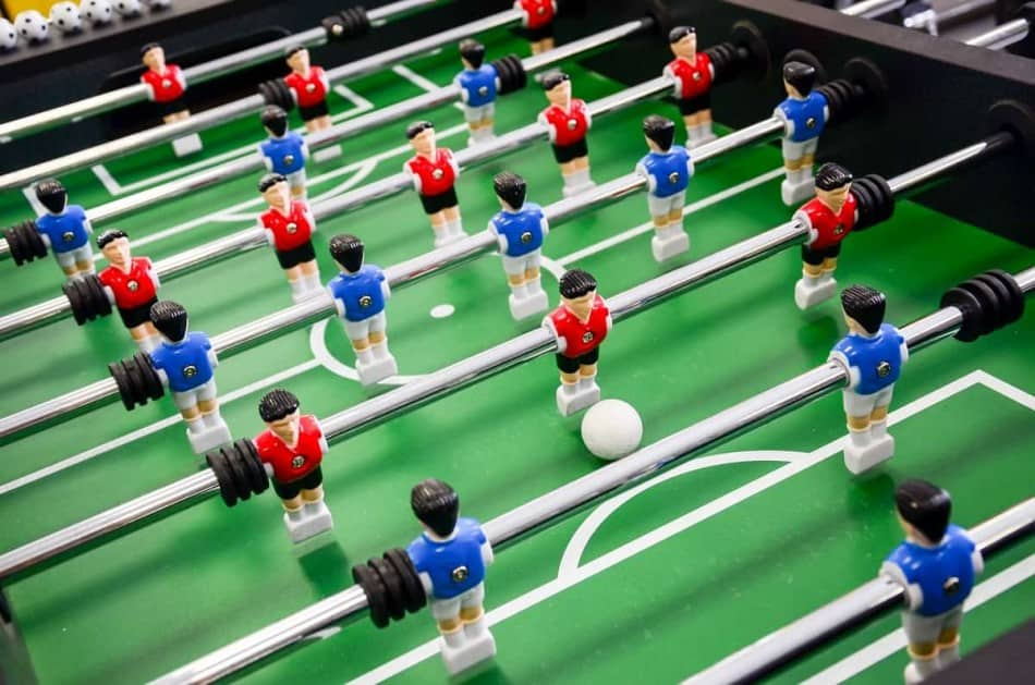 Warrior Table Soccer Review - getfoosball.com