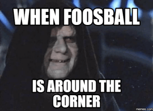 Foosball Around the Corner
